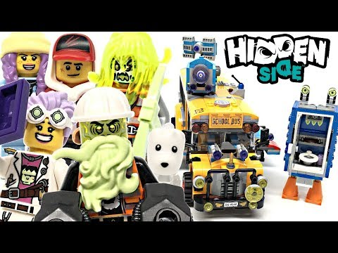 LEGO Hidden Side Paranormal Intercept Bus 3000 review! 2019 set 70423!