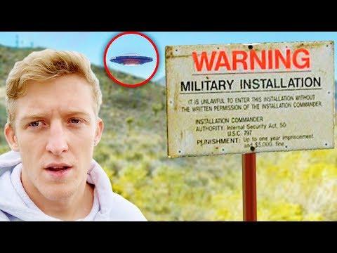 Fortnite Youtubers Who RAIDED Area 51..