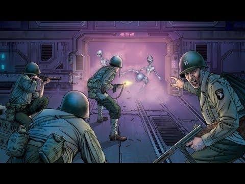 Enfrentamiento armado entre militares y aliens en la Base de Dulce