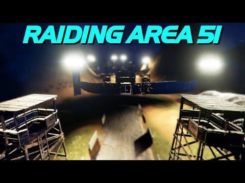 FINALLY Raiding Area 51 – Rust