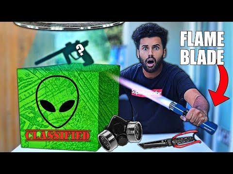 I Bought A Dark Web AREA 51 SURVIVAL Mystery Box!! *GOING TO THE RAID!!*