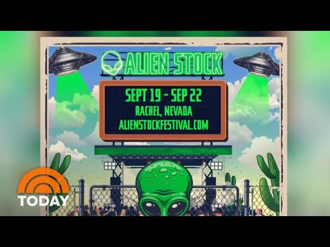 Alienstock? Man Behind Viral Area 51 Event Planning Music Fest   TODAY