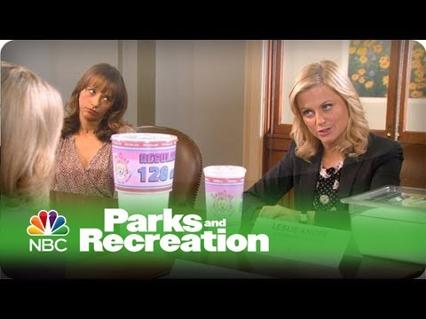 Soda Sizes – Parks and Recreation