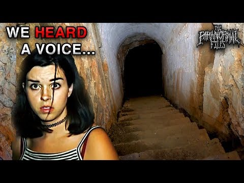 Was Somebody In This SCARY Abandoned Nazi Bunker With Us?!   THE PARANORMAL FILES