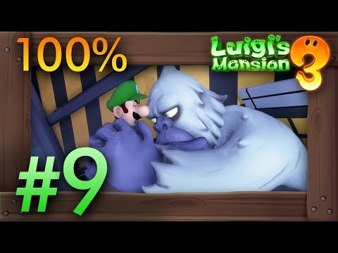 Luigi's Mansion 3: 100% Walkthrough Part 9 – Paranormal Productions (8F)