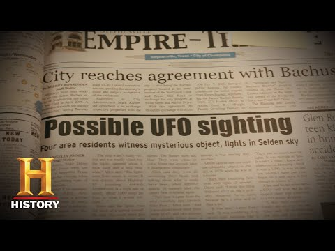 UFO Sighting Reported by Hundreds of Witnesses | In Search Of (Season 2) | History