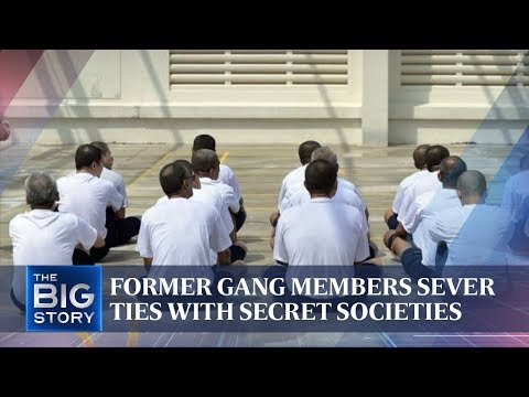 Former gang members sever ties with secret societies | THE BIG STORY | The Straits Times