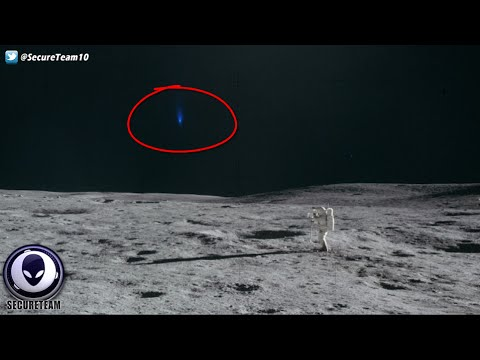 BUSTED! Alien Craft CAUGHT Watching Astronauts On Moon Walk! 3/22/16