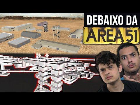 O que tem DEBAIXO da AREA 51??