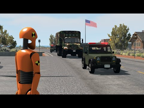 Storming Area 51   BeamNG.drive