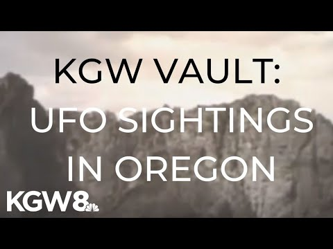 KGW Vault: UFO sightings in Oregon