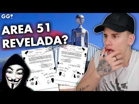 Lo ÚLTIMO DE ANONYMOUS, DOCUMENTOS ÁREA 51, alucinante.