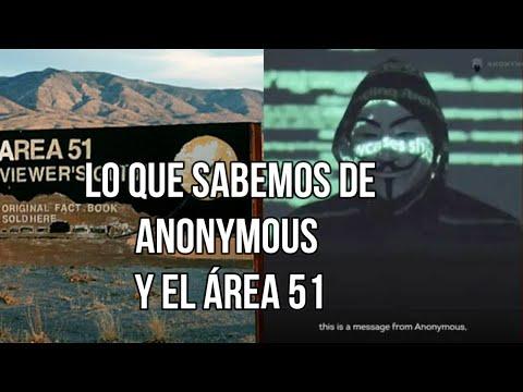 Lo que se Sabe de Anonymous y el Área 51