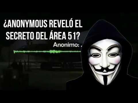 ¿Anonymous Reveló el Secreto del Área 51?