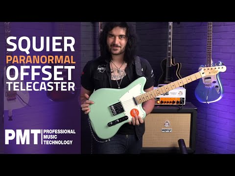 Squier Paranormal Offset Telecaster Guitar – Squier Gets Spooky!