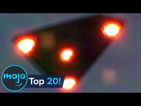 Top 20 UFOs Caught on Camera