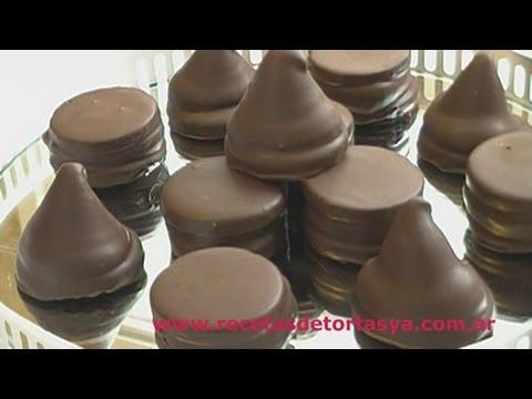 Conitos de dulce de leche y Alfajorcitos de Chocolate – Recetas de Tortas YA!