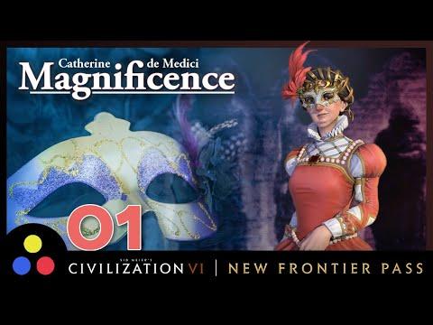 Catherine de Medici (Magnificence) – Deity Secret Societies | Civilization 6 | Episode 1 [Diplomacy]