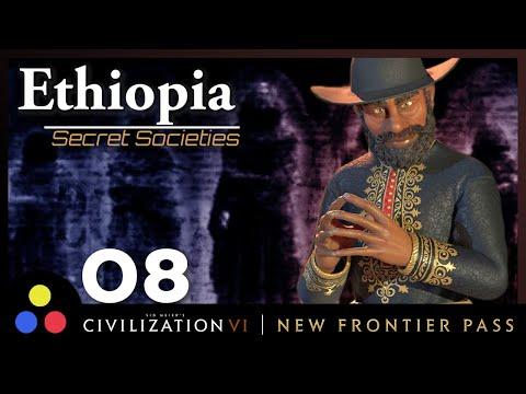 DEITY ETHIOPIA – Secret Societies Game Mode | Civilization 6 | Episode 8 [Overpowered Castles]