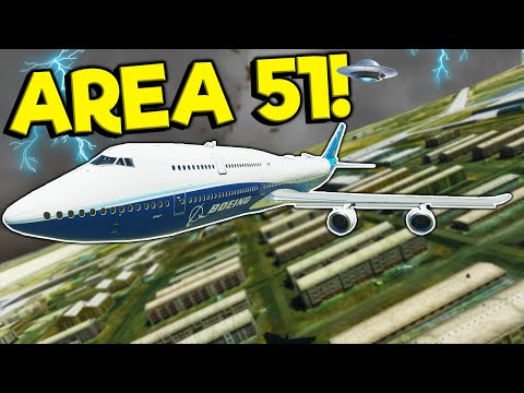 Spycakes & I Visited Area 51 During a Thunderstorm! – Microsoft Flight Simulator 2020 Multiplayer