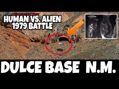 Ang Dulce Base New Mexico ! Human Vs. Alien Greys 1979 Battle