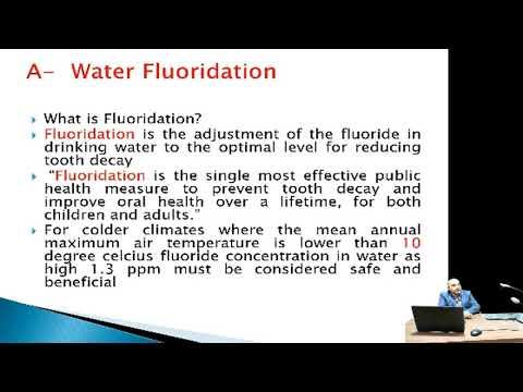 محاضرة م م.محمد اسماعيل (Fluoride mechanism effects and toxicity/للمرحلة الرابعة/ كلية طب الاسنان)