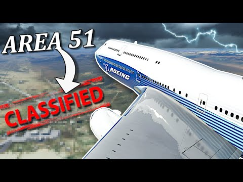 Flying To Area 51 Was a Mistake! – Microsoft Flight Simulator Multiplayer Gameplay